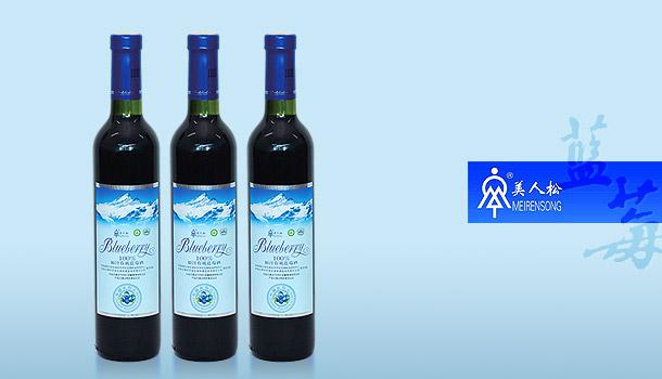 美人松——100%原汁有機藍莓酒