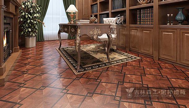 强化复合地板——拼花系列——爱丽丝迷宫