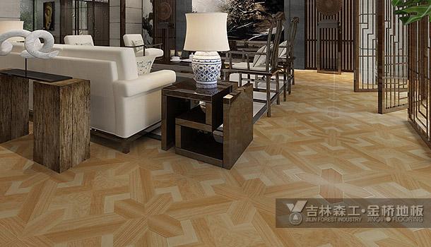 强化复合地板——拼花(中式风格)