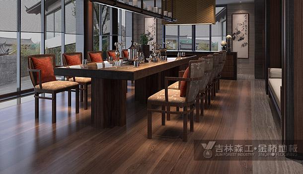 三层实木复合地板——宇宙素描(田园风格)