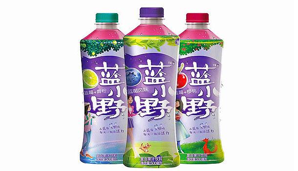 森系饮品——蓝小野
